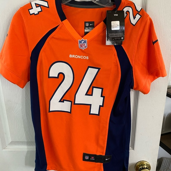 Nike Signed NFL Broncos Champ Bailey Jersey